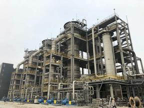 岭南生物质大型发酵设备在?#26412;?#39318;钢集团调试成功